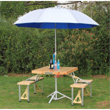 Outdoor Wooden Portable Folding Tables and Chairs