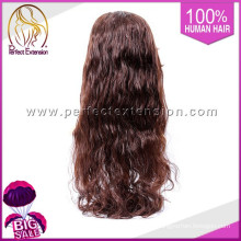 Adhesive Unprocessed Jewish Green Long Ultra Hold Lace Tinsel Wig