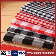 Top Quality 100% Cotton Grid Fabric