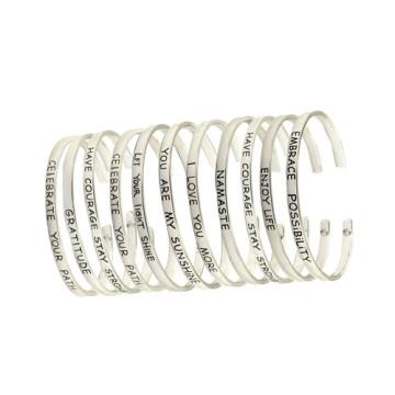 Stainless Steel Bracelet Fashion Jewelry Friendship Bangle
