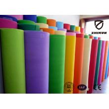 Color PP Spunbond Materail Tissu non tissé pour sacs à provisions