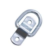 Anel em D de corda de metal de tamanho padrão