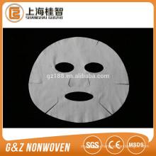 nonwoven facial mask sheets white microfiber face mask