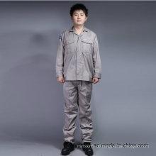 Lange Ärmel Günstige Hohe Qualität 65% Polyester 35% Baumwolle Sicherheitsanzug Arbeitskleidung (BLY2002)