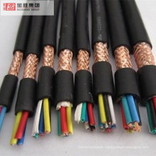 RVVP 0.5-1.5 cross section  flexible Copper core  conductor PVC insulated PVC sheathed electrical wire shield cable