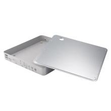 Kundenspezifische Präzisionsbearbeitung elektronisches Metallgehäuse