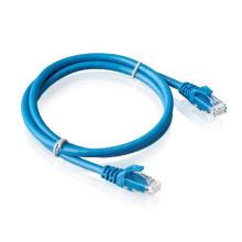 Réseau de câblage CAT6 de câble de raccordement non blindé