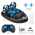 Mini Drone - 3 in 1 RC Quadcopter Boat Sea-Land-Air  6-Axis Gyro  with Headless Mode 3D Flips One Key Return Drone for Beginners