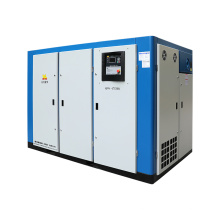 Aircompressor 2 Stage Screw Air Compressor Compressed Air for General Industrial Equipment 110kw 150hp