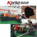 double-stage pelletizing extruder for PVC calbe granules