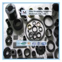 Graphite bearings for bushings
