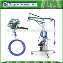 Machine de pulvérisation chimique de fibres de polyester à haute performance