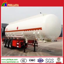 Volumen-kundenspezifischer schwerer chemischer flüssiger Tanker-Transport-halb Anhänger