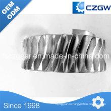 Gute Qualität Kundenspezifische Getriebe Getriebe Schneckengetriebe für verschiedene Maschinen
