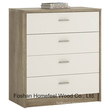 Wooden Bedroom Furniture 4 Drawers Chest Dresser Cabinet (HC15)