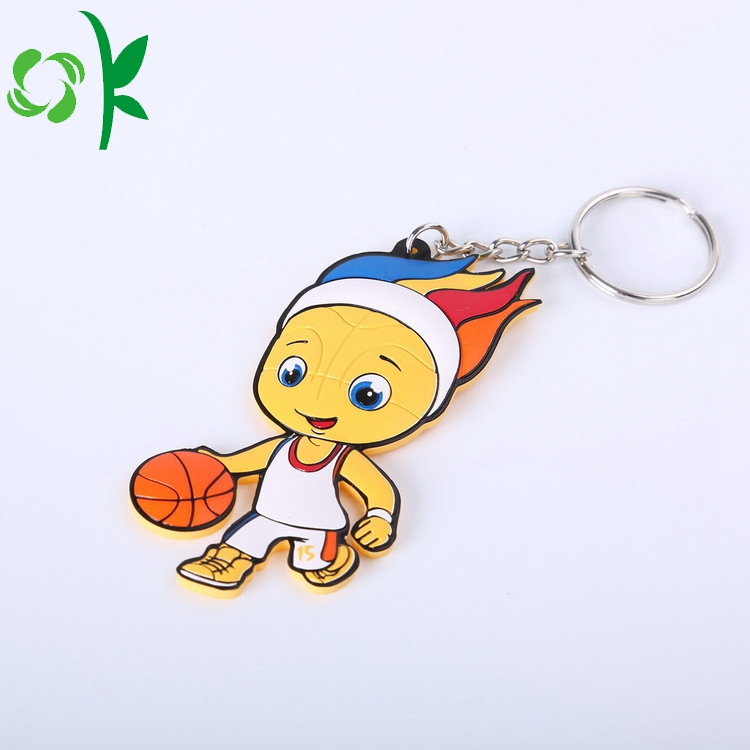Basketball Boy Keyring