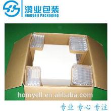 column air cushion wrapping edge protector/inflatable edge protector/air buffer edge protector