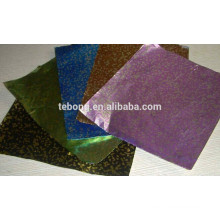 Color painted chocolate aluminum foil paper for candy packaging