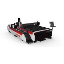 Machine de découpe en tube d'acier rectagulaire Machine à découper au laser à fibre