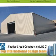 Construction rapide et structure professionnelle en acier préfabriquée Garage automobile