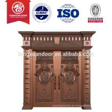 Kupfer-Tür mit vorderen Doppeltür-Designs für moderne Schnitzerei