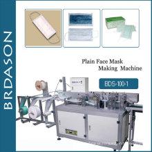 Máquina de máscara facial descartável automática