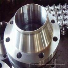 Flange ASTM A105 do pescoço, flange comum de ANSI / ASME B16.5 Brida