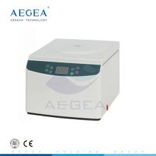 AG-D0037 Precio de centrifugadora eléctrica de escritorio de laboratorio de hematocrito de alta velocidad de bajo ruido