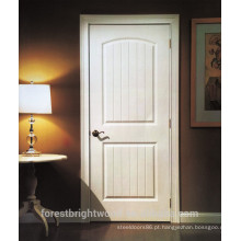 Interior branco preparado 2 painel HDF porta moldada