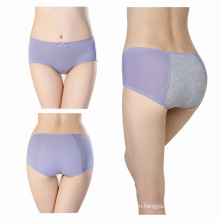 Anti leaking panty period proof panty bamboo menstrual underwear period panty