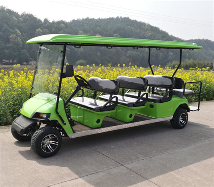 gas powered golf car
