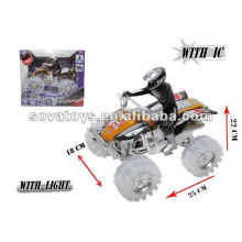friction action plastic toy motorcycle