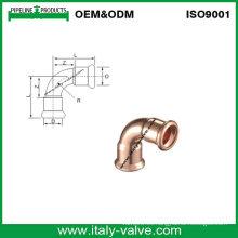 En1254pulera de cobre 90 Codo (AV8052)
