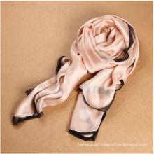 Ladies silk beautiful lace shawl