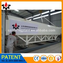 Silo de cimento horizontal, silo de cimento móvel, silo de cimento portátil