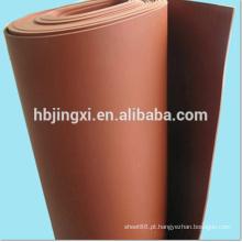 Folha macia de PVC para piso resistente a erosão química