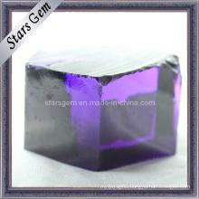 Violet Blue CZ Rough/Raw Material, Cubic Zirconia Rough