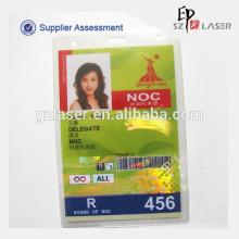 A5 Größe Hot Laminierung Tasche für ID-Karten, Guangzhou Asian Games