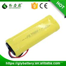 Bateria recarregável do SC de 7.2V 1700mAh NICD para a luz do diodo emissor de luz