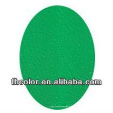 Grüne Faltenpuderfarbe