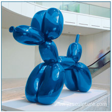 Stainless Steel Balloon Dog Sculpture