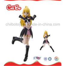 Lange Haare Lovely Plastic Figur Spielzeug (CB-PF023-S)