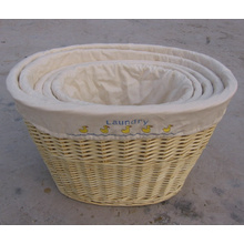(BC-ST1031) Qualitäts-handgemachter Weide-Wäsche-Korb