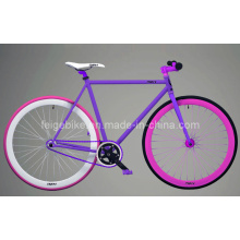 Bicicleta de pedal trasera hermosa bicicleta fija fija (FP-FGB001)