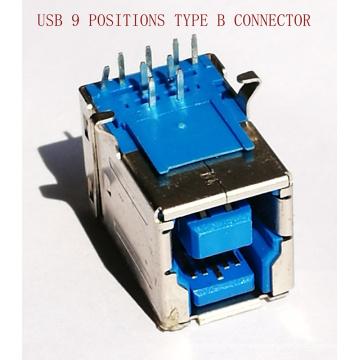 Conector hembra de 9 pines USB3.0 para el equipo de la impresora