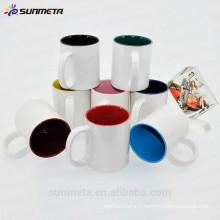 Sublimation en céramique en céramique blanche en gros