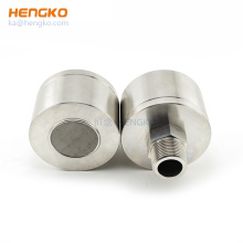 Safe and explosion proof catalytic combustible gas detector probe housing