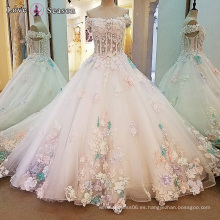 LS00105 vestidos de playa vestidos de novia al por mayor para el tamaño más simple vestidos elegantes de la boda
