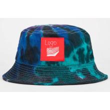 Personalizado em branco de alta qualidade por atacado gravata tingida balde chapéu