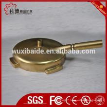 coffee machine filter holder custom/cnc machining filter holder/brass filter holder machining